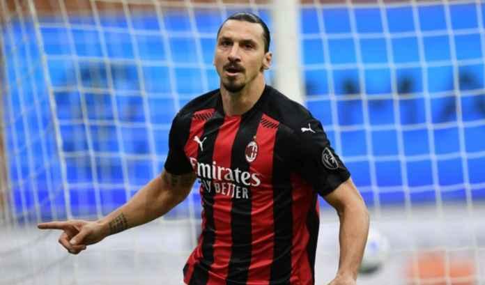 Hasil AC Milan vs AS Roma - Hasil Liga Itaia Serie A - Zlatan Ibrahimovic