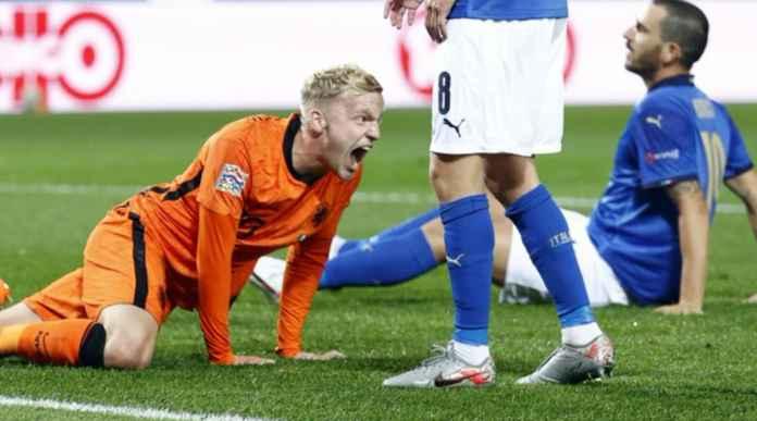 Hasil Italia vs Belanda - Hasil UEFA Nations League