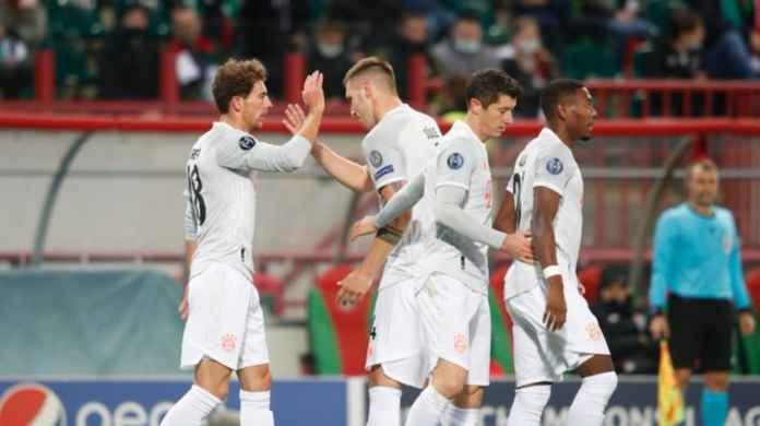 Hasil Lokomotiv Moscow vs Bayern Munchen Hasil Liga Champions tadi malam
