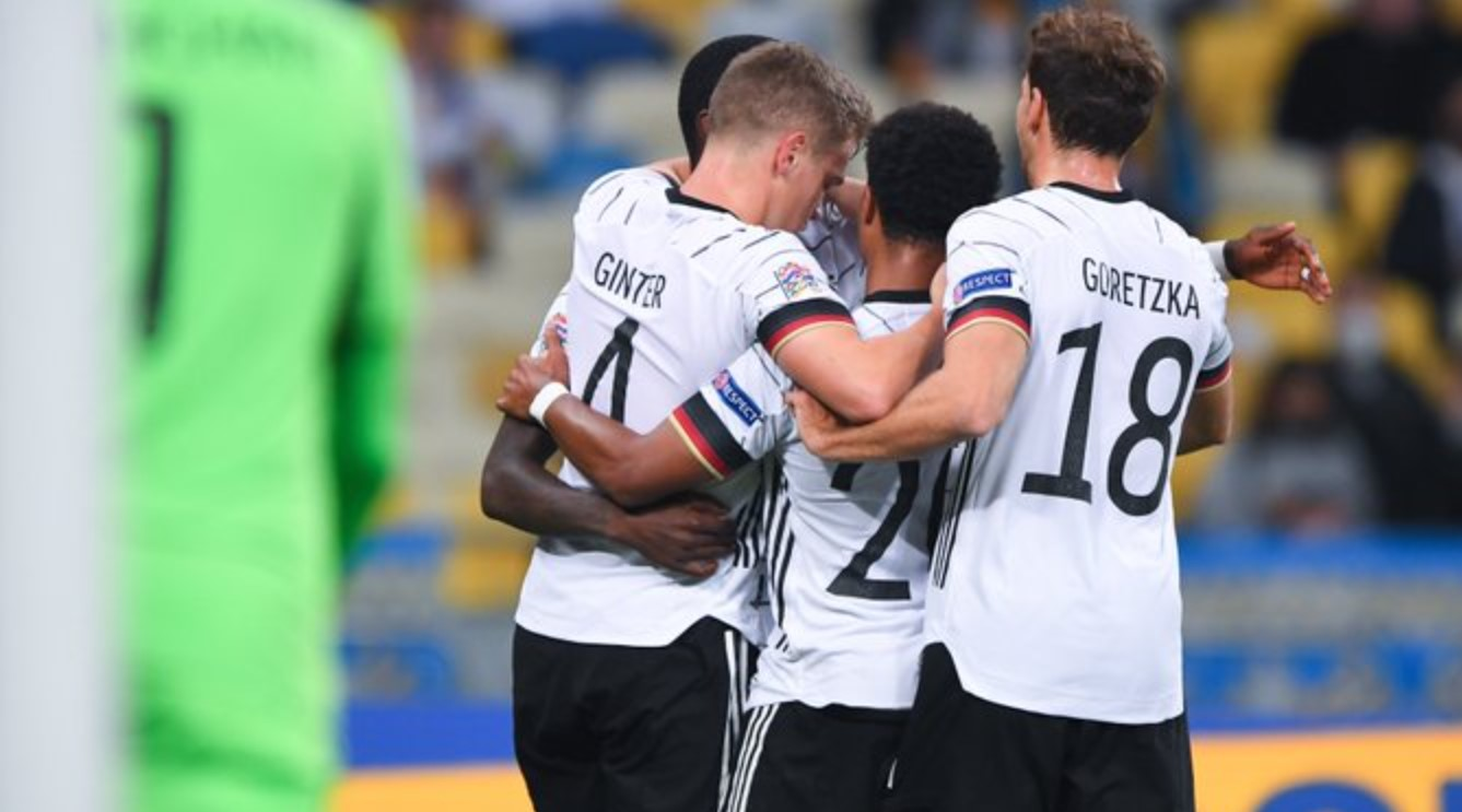 Hasil Ukraina vs Jerman - hasil UEFA Nations League tadi malam