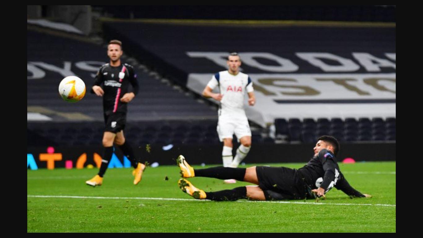 Sepakan Gareth Bale Berujung Gol Kedua Tottenham di Ajang Liga Europa