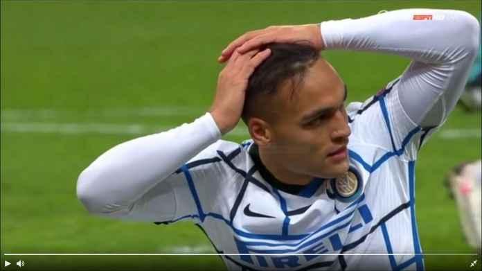 Untung Barcelona Batal Transfer Lautaro Martinez, Gagal Gol Jarak 6 Meter Tadi Malam