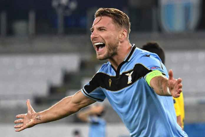 Lazio Berhasil Atasi Dortmund, Ciro Immobile Puas