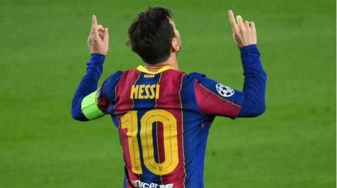 Lionel Messi Bukukan Rekor Baru di Liga Champions