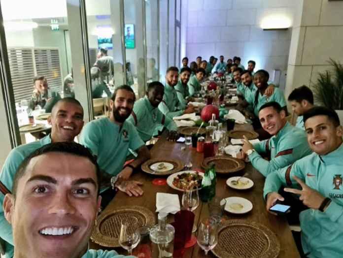 Cristiano Ronaldo Dicoret dari Timnas Portugal