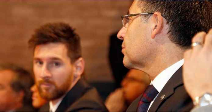 Demi Lionel Messi, Bartomeu Rela Bertahan di Barcelona