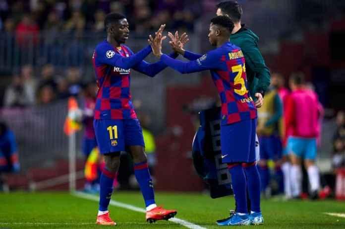 Barcelona mengalahkan Manchester United pada Januari