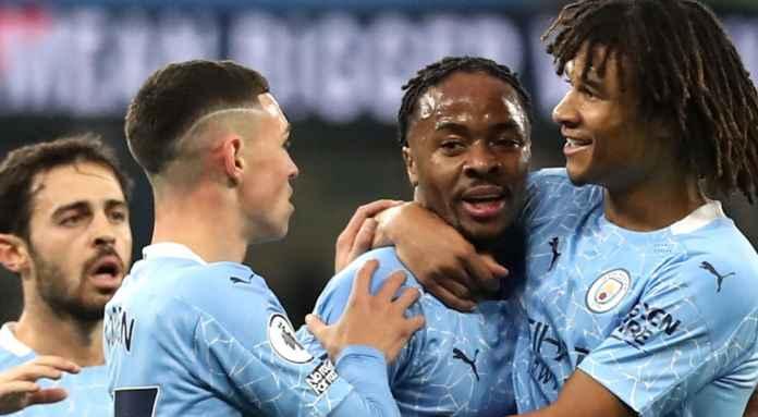 Man City Libas Arsenal - Dikasih Ban Kapten Sterling Langsung Cetak Gol
