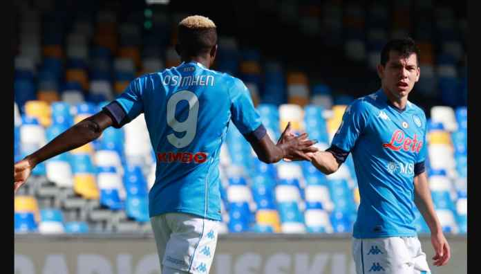 Hasil Liga Italia: Napoli Lampiaskan Amarah Pada Atalanta, Menang 4-1