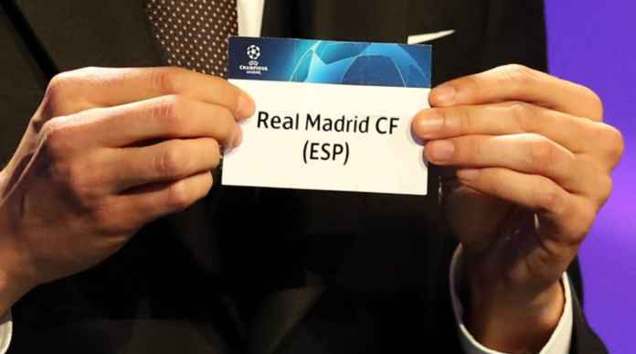 Drawing Liga Champions Bikin Real Madrid Garuk Garuk Kepala