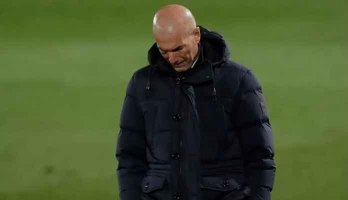 Daftar 5 Kesalahan Zinedine Zidane, Beranikah Real Madrid Memecatnya?