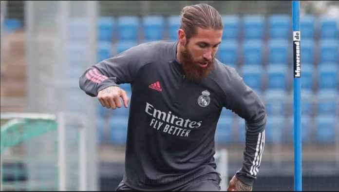 Sergio Ramos Kembali Berlatih Jelang El Clasico, Beberapa Pemain Masih Absen!