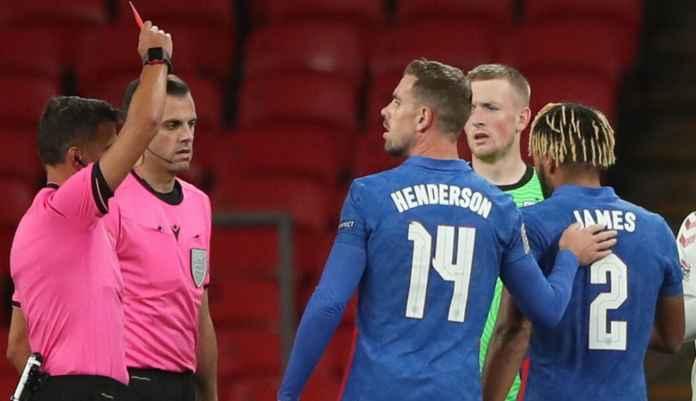 Emosi dan Kartu Merah Coreng Reece James di UEFA Nations League