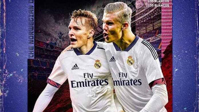 Zidane Puji Kualitas Bagus Erling Haaland, Kode Transfer Real Madrid?