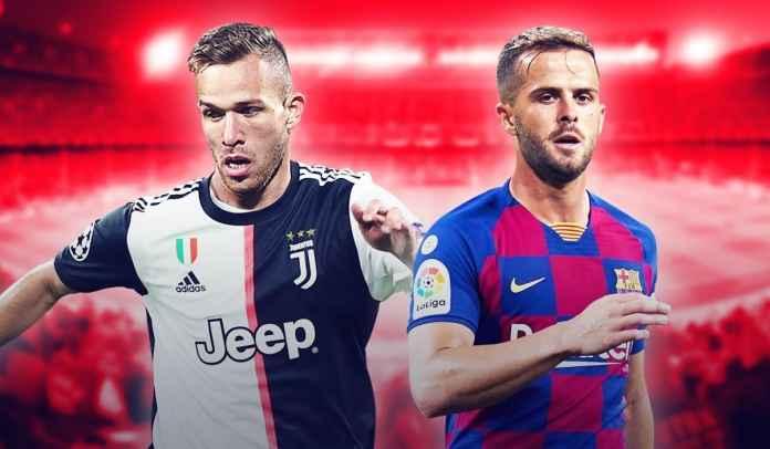 Juventus Ketemu Barcelona, Nedved Nantikan Duel Arthur vs Pjanic