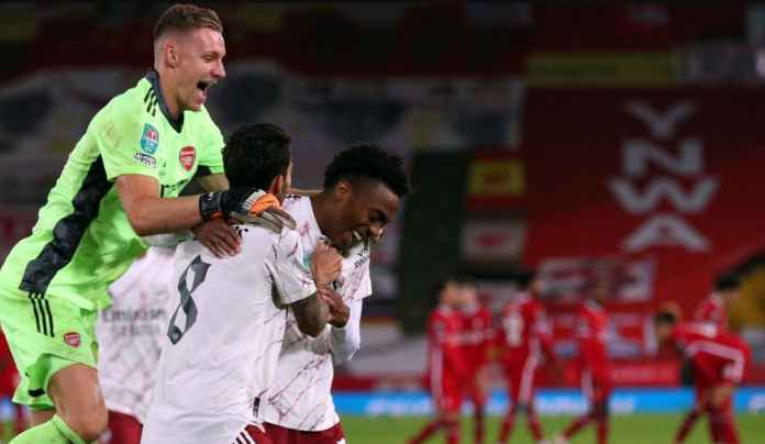 Rapor Pemain Arsenal 5-4 Liverpool, Bernd Leno Pahlawan Adu Penalti!