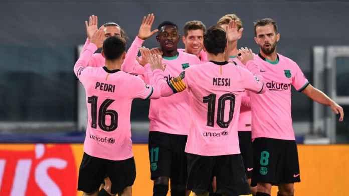 Rapor Pemain Barcelona vs Juventus : Kemenangan Pertama Blaugrana Di Turin!