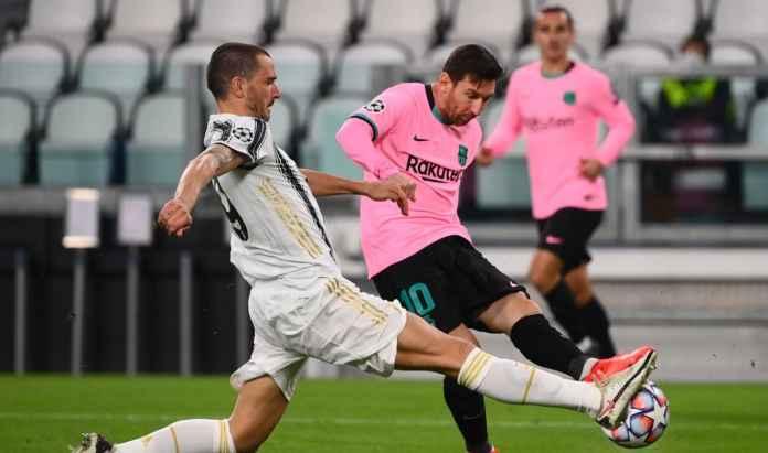 Leonardo Bonucci Sebut Sejumlah Kesalahan Juventus Untungkan Barcelona