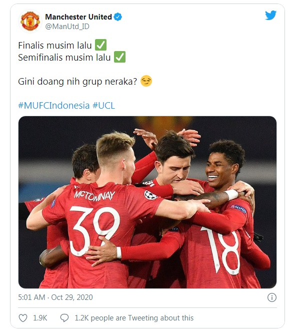 Bantai Finalis & Semifinalis Liga Champions, MU : Gini Doang Grup Neraka?