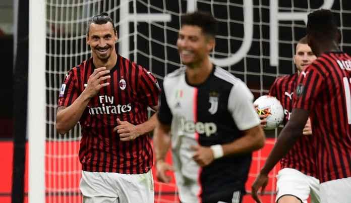 Pengaruh Ibrahimovic Bagi AC Milan Lebih Besar Ketimbang Ronaldo di Juventus