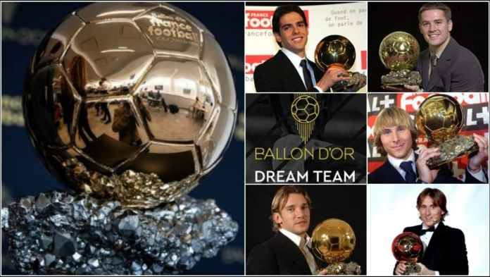 Nama Legenda Sepak Bola Yang Tak Masuk Nominasi Ballon d'Or Dream Team