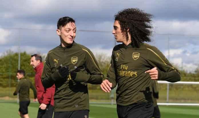 Mesut Ozil Bantu Yakinkan Matteo Guendouzi Tinggalkan Arsenal Ke Hertha Berlin