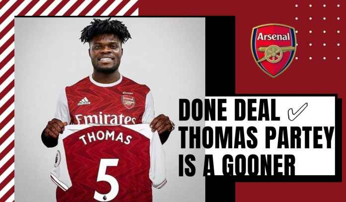 RESMI! Arsenal Boyong Thomas Partey 872 Milyar, Lucas Torreira Gabung Atletico