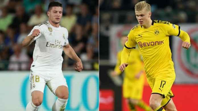 5 Alasan Erling Haaland Lebih Cocok Untuk Real Madrid Ketimbang Luka Jovic!
