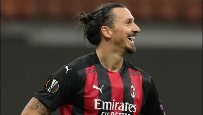 Cuma Zlatan Ibrahimovic Gagal Penalti Bagi Milan dan Masih Tertawa