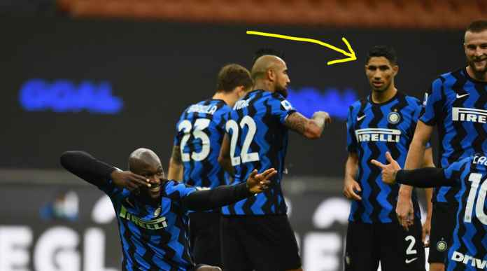 Inter Menang, Achraf Hakimi Shock Lihat Perayaan Gol Lukaku, Promosi Kekerasan Macam Apa Ini?