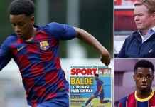 Alex Balde wonderboy Barcelona calon pengganti Ansu Fati yang cedera