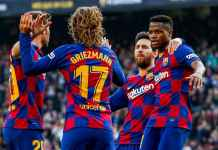 Antoine Griezmann dan tim Barcelona