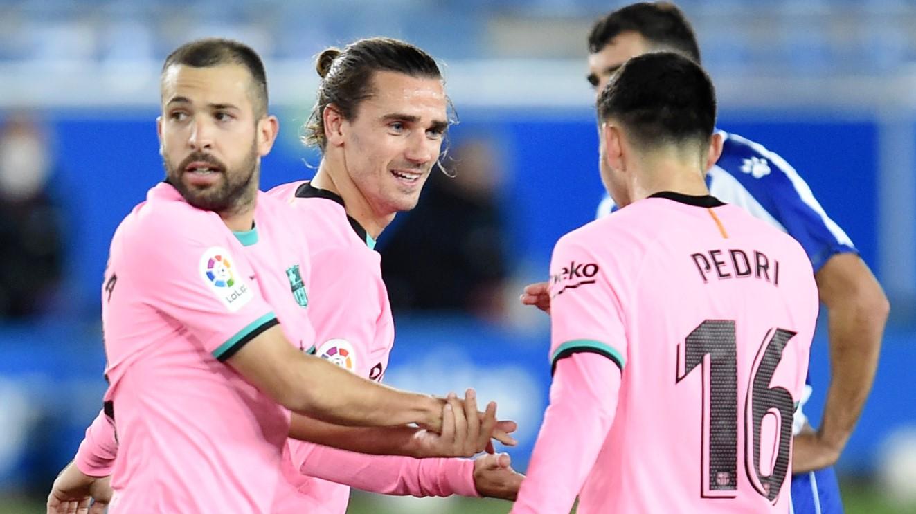 Antoine Griezmann mencetak gol penyama kedudukan di babak kedua