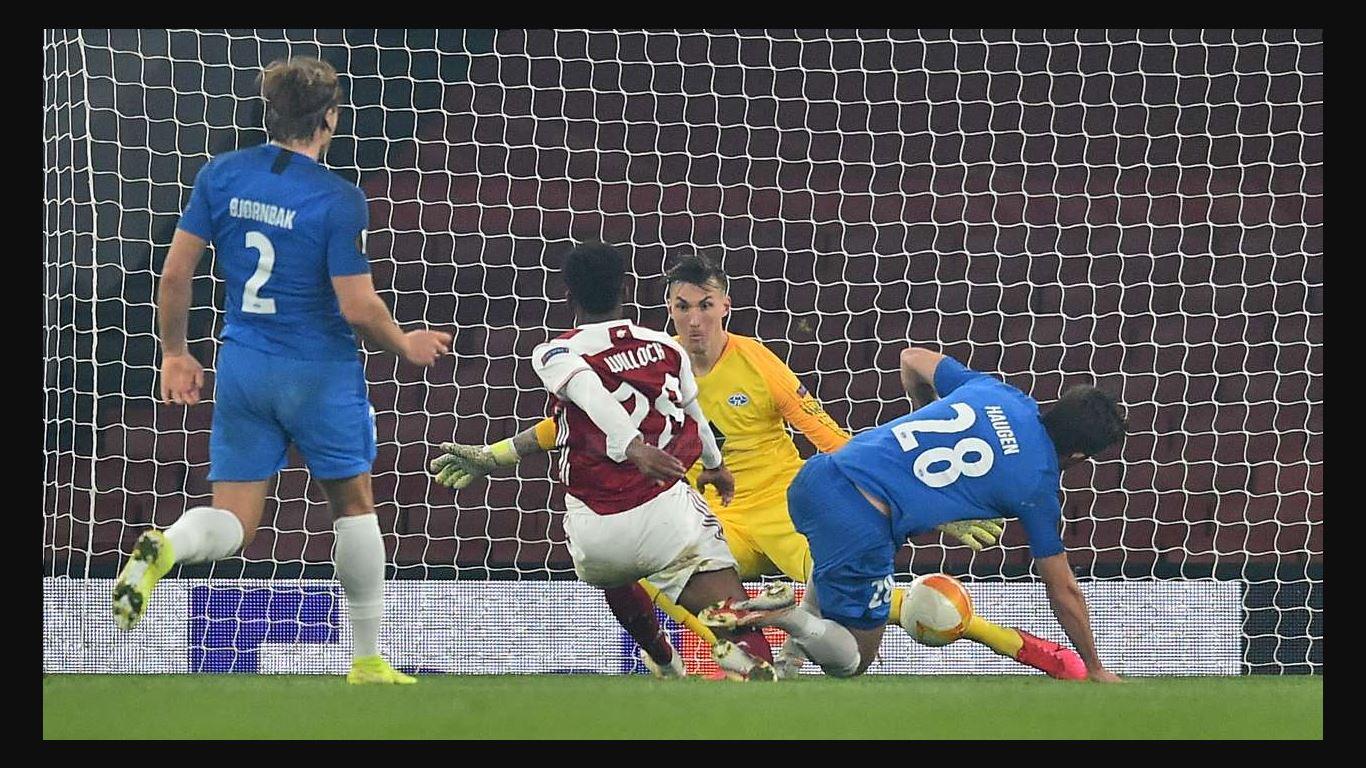 Hasil Liga Europa: Arsenal Menang, Tapi Nyaris Gagal Bikin Gol