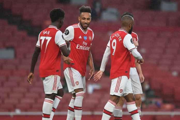 Aubameyang Tarik Gol, Arsenal Harus Lakukan Ini