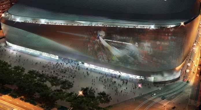 Estadio Santiago Bernabeu markas Real Madrid
