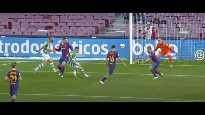 Jebol Gawang Barcelona, Pemain Betis Menolak Rayakan Gol, Ada Apa?