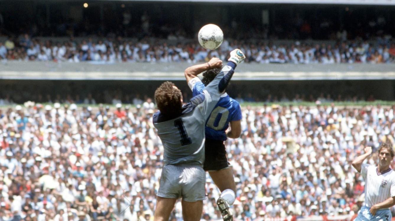 Gol Tangan Tuhan Diego Maradona di Piala Dunia