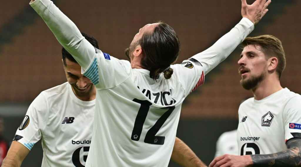 Hasil Ac Milan Vs Lille Skor 0 3 Di Liga Europa Monster Gol Turki Ajari Zlatan Cetak Gol Gilabola Com