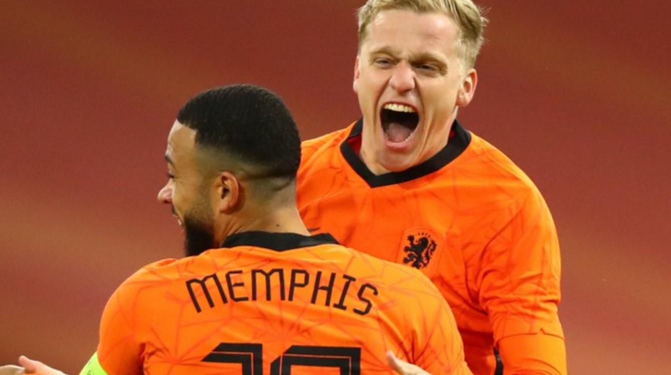 Hasil Belanda vs Spanyol Skor 1-1, Donny van de Beek ...