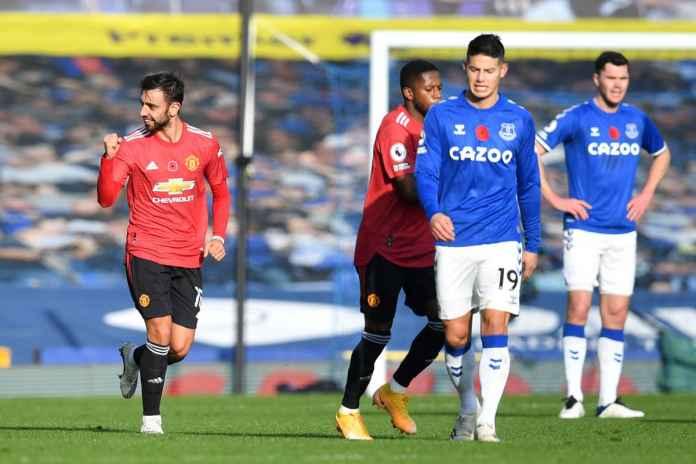 Hasil Everton Vs Manchester United Mu Berhasil Curi Tiga Poin Berkat Bruno Fernandes Gilabola Com
