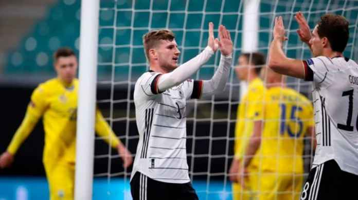 Hasil Jerman vs Ukraina - Hasil UEFA Nations League - Skor Akhir