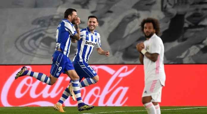 Hasil Real Madrid vs Deportivo Alaves - Hasil LIga Spanyol - Real Madrid Kalah