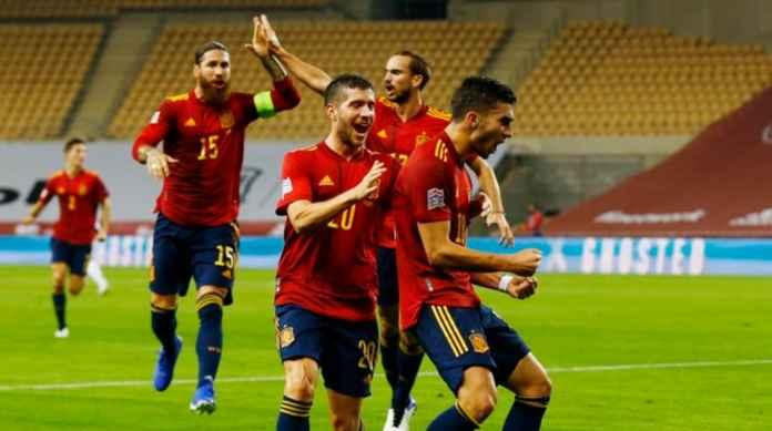Hasil Spanyol vs Jerman - Hasil UEFA Nations League - Ferran Torres
