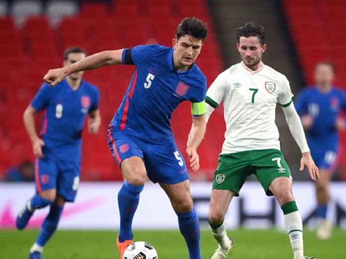 Timnas Inggris Galau Bintang Irlandia Positif Corona Usai Bertanding di Wembley
