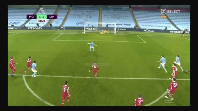 Hasil Man City vs Liverpool: Penalti Mo Salah, Umpan Tumit Jesus 1-1