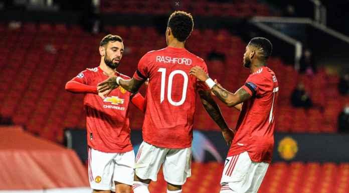 Hasil Liga Champions: Man Utd Balaskan Dendam ke Basaksehir 4-1