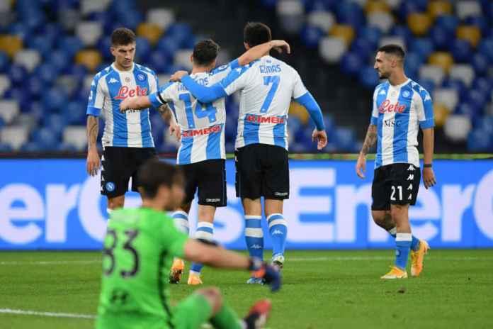 Napoli Hajar AS Roma, Pencetak Gol Girang Banget