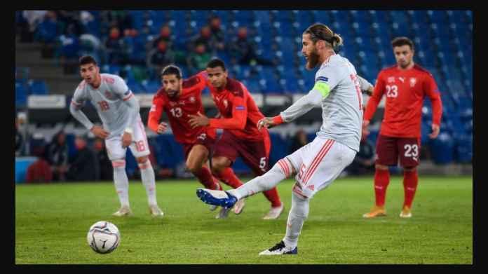 Sergio Ramos Gagal Penalti Dua Kali! Spanyol Terancam Tersisih Dari Putaran Final UEFA Nations League