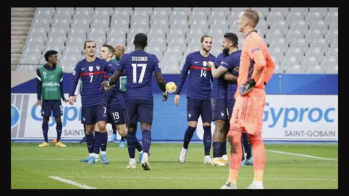 Swedia Merana! Terdegradasi Setelah Kalah 4-2 di Perancis